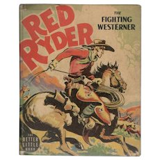 Red Ryder The Fighting Westerner - Whitman Better Little Book