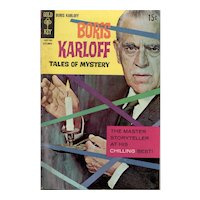 Boris Karloff Tales of Mystery - Gold Key comic Sept. 1968