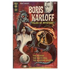 Boris Karloff Tales of Mystery - Gold Key comic Dec. 1967
