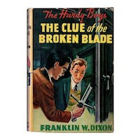 The Clue of the Broken Blade - Hardy Boys