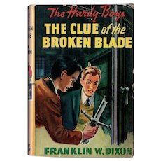 The Clue of the Broken Blade - Hardy Boys