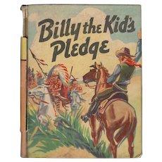 Billy the Kid's Pledge - Saalfield Little Big Book