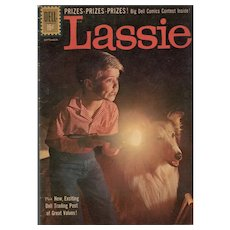 Lassie - Dell Comic no. 54, July-Sept 1961