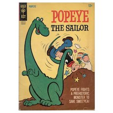 Popeye The Sailor - Gold Key comic No. 79,  February 1966
