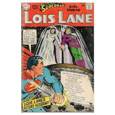 Superman's Girlfriend Lois Lane - DC comic No. 90, Feb 90