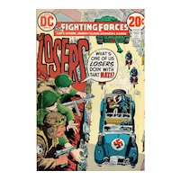 Our Fighting Forces - DC comic no. 140 Nov/Dec 1972