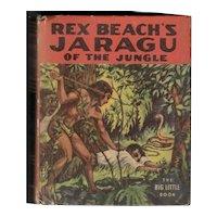 Jaragu of the Jungle - Whitman Big Little Book