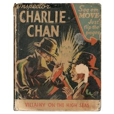 Charlie Chan Villainy on the High Seas - Big Little Book