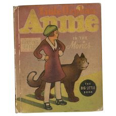 Little Orphan Annie in the Movies - Whitman Big Little Book