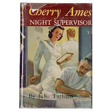 Cherry Ames - Night Supervisor (with Dust Jacket)