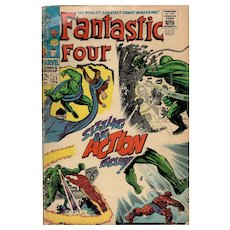 Fantastic Four No. 71 - Feb. 1968