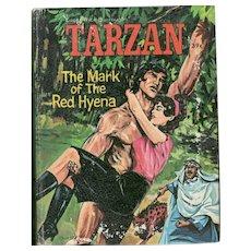 Tarzan The Mark of the Red Hyena - Whitman Big Little Book