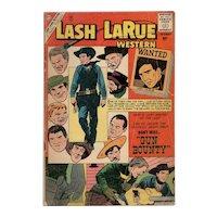 Lash LaRue Western Comic No 81 1960
