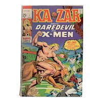 Kazar - Marvel Comic No. 1 - Aug. 1970