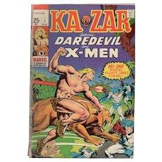 Kazar - Marvel Comic No. 1 - Aug. 1970