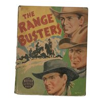 The Range Busters - Whitman Big Little Book