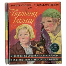 Treasure Island Whitman Big-Little Book