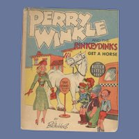 Perry Winkle and the Rinkeydinks Get a Horse Whitman Better-Little Book