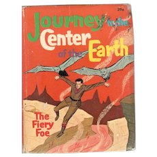 Journey to the Center of the Earth The Fiery Foe Big-Little Book