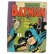 Batman The Cheetah Caper Big-Little Book