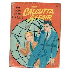 The Man from UNCLE The Calcutta Affair Big-Little Book