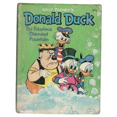 Donald Duck The Fabulous Diamond Fountain Big-Little Book