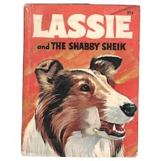 Lassie and the Shabby Sheik Big-Little Book