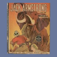 Jack Armstrong and the Ivory Treasure Whitman Big-Little Book