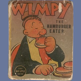 Wimpy The Hamburger Eater