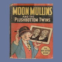 Moon Mullins and the Plushbottom Twins Whitman Big-Little Book