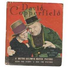 David Copperfield Big-Little Book from 1934 Movie