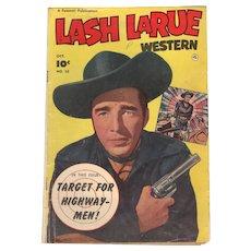 Lash LaRue Western Comic No 33 1952