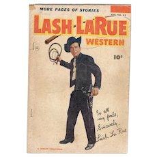 Lash LaRue Western Comic No 43 1953
