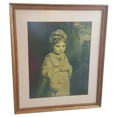 Wallace Collection The Strawberry Girl framed print