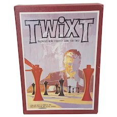 1962 Twixt game Vintage strategy game for two