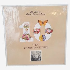 1970 The Best of Peter, Paul and Mary Ten Years Together vinyl record album