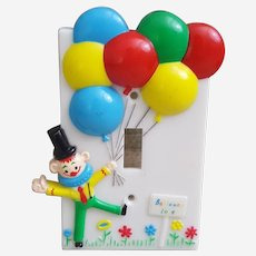 The Dolly Company Clown light switch cover