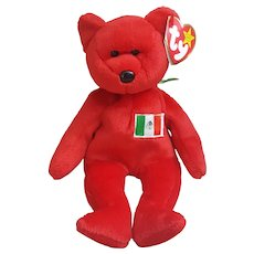 1999 TY Beanie Baby Osito, TY International bear Mexico
