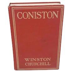 Coniston by Winston Churchill November 1912 edition