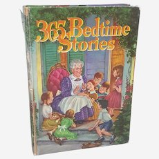 Whitman Giant book, 1955 Bedtime Stories told by Nan Gilbert Illustrated by Jill Elgin