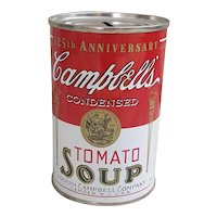 Campbell's Condensed Tomato Soup Still Coin Bank 125th Anniversary