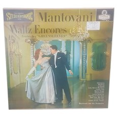 1958 Mantovani Waltz Encores featuring Greensleeves