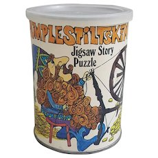 1969 Rumplestiltskin Jigsaw Story Puzzle