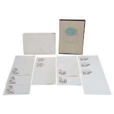 Rome Creations Intimate Notes 10 etched folded sheets by Richardson Rome