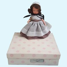 Beautiful Bisque Nancy Ann Storybook Doll Quaker Maid #55 with box and tag