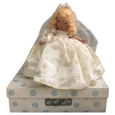 Nancy Ann Story Book Doll Family Series Bride 86