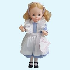 "Madame Alexander 14"" Alice doll with original box #1552"