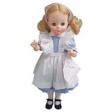 "Madame Alexander 14"" Alice doll with original box #1552"