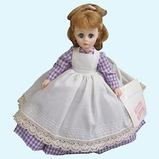"Madame Alexander 11"" Little Women Meg doll with original box and tags"