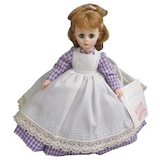 """Madame Alexander 11"""" Little Women Meg doll with original box and tags"""